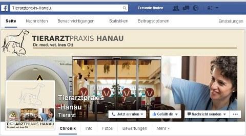 Tierarztpraxis-Hanau bei Facebook