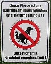 Hundekot Plakat des BBV | Tierarztpraxis-Hanau.de