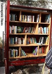 Erster öffentlicher Bücherschrank in Hanau |Tierarztpraxis-Hanau.de