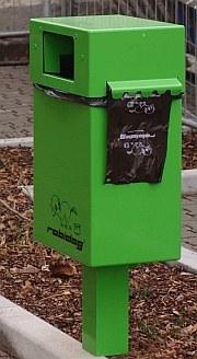 Robidog  vor der Tierarztpraxis-Hanau.de