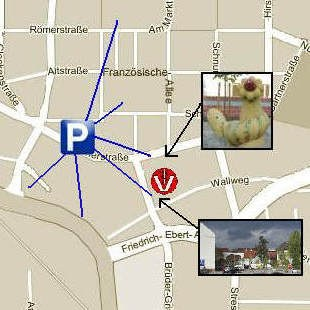 Zugang u. Parken - Tierarztpraxis-Hanau