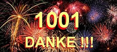 1001 FB-Fans - DANKE ! | Tierarztpraxis-Hanau.de