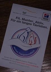 Aktion Tiergesundheit 2013  | Tierarztpraxis-Hanau.de