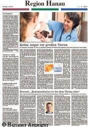 Hanauer Anzeiger|Tierarztpraxis-Hanau.de