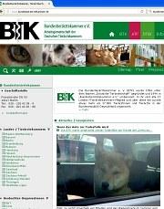 ScreenShot Bundestierärztekammer
