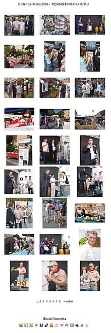 Die Partybilder sind online |  Tierarztpraxis-Hanau.de