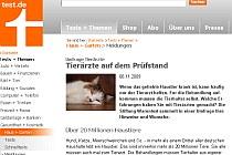 Stiftung Warentest: Tierärzte auf dem Prüfstand | Tierarztpraxis-Hanau.de